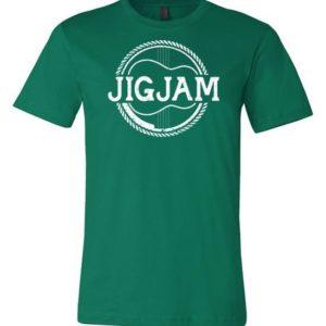 JIGJAM - LOGO TEE GREEN